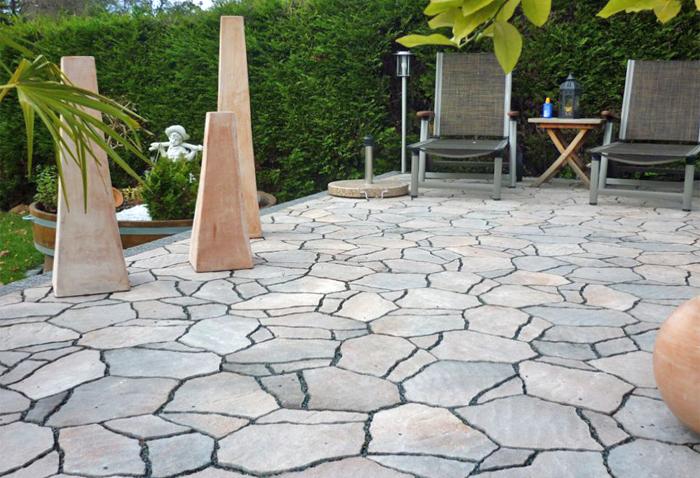 terrassengestaltung mit natursteinen peters woh tt gbr. Black Bedroom Furniture Sets. Home Design Ideas