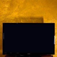 Gold-Effekt-Spachteltechnik