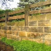 Erneuerung / Sanierung Sandsteinmauer