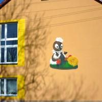 Wandmalerei - Fassadengestaltung